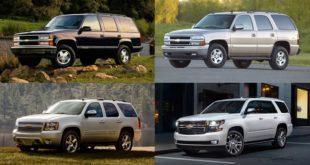 El Chevy Tahoe cumple 25 años y sigue siendo el SUV grande más vendido del país